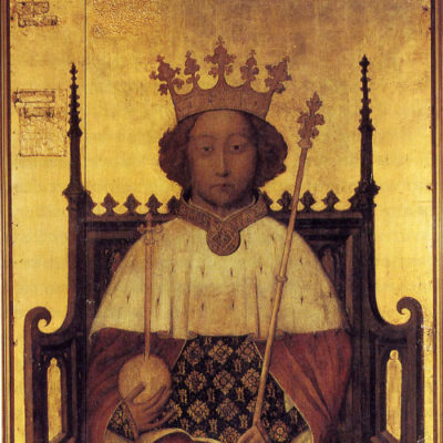 Richard II is the tormented leader who loses it all
