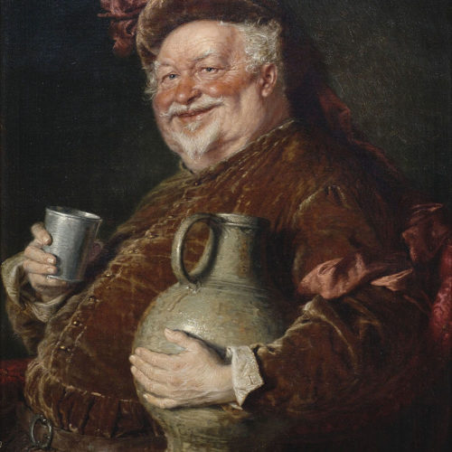 Falstaff is a part of Shakespeare's world of myth